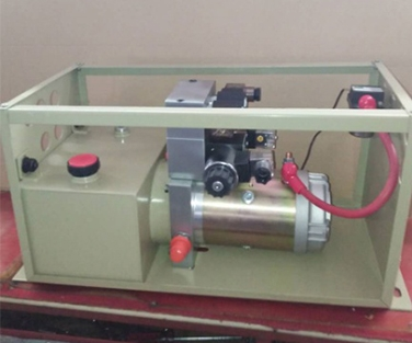New energy tail plate power unit